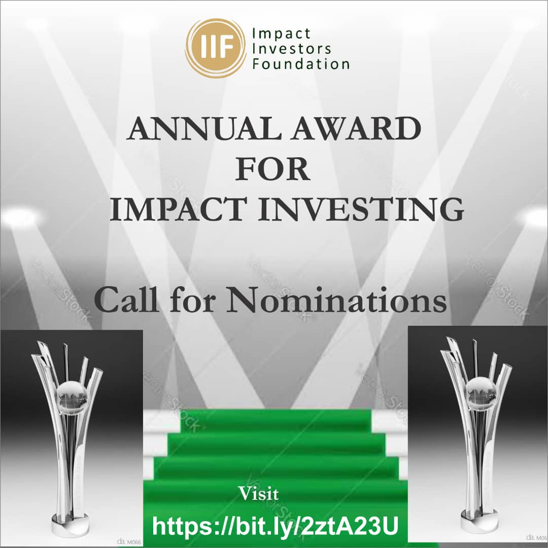 IIF AWARD NOMINATION